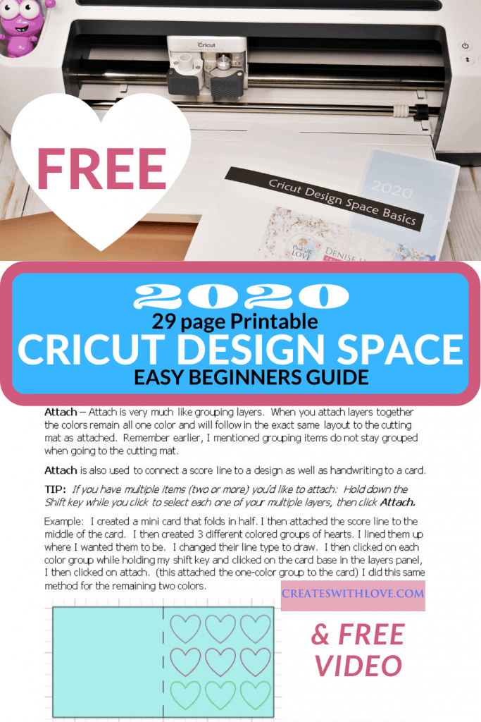 I am so happy I can provide some simple basics with this Cricut Design Space Basics Tutorial.  Have you been afraid to take your Cricut Maker or Explore Air out of the box? Or is it proudly displayed in your craft room with the burning desire to be loved? These are just a few of the reasons I decided to help you out by creating with love, a Cricut Design Space Tutorial that is user-friendly for Beginners.   #cricut#cricutmade #cricuttutorials#cricutdesignspace #designspace#cricutmaker #cricutexploreair#cricutexploreair2 #freesvgfiles #freesvg#svgcricut #svg