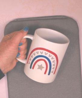 multi color infusible ink mug