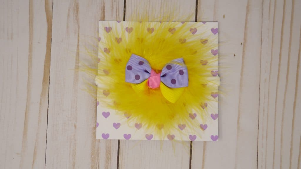 Purple lavender yellow and pink baby headband