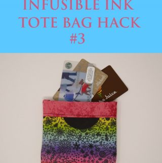 cricut infusible ink tote bag hack #3