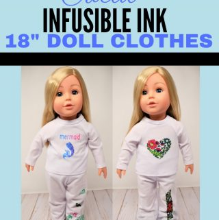 "Cricut Infusible Ink 18"" Doll Clothes"