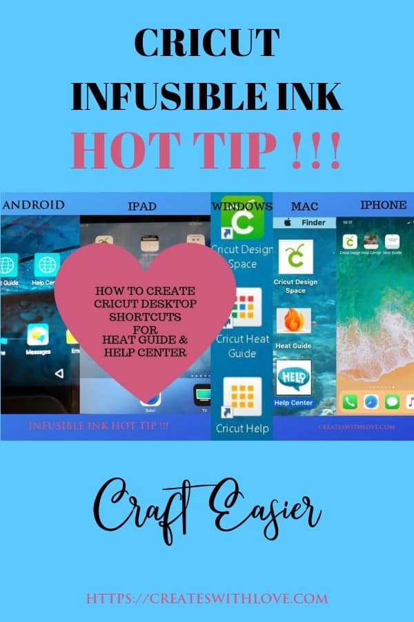 Cricut Infusible Ink: Best Hot Tip! » Creates with Love