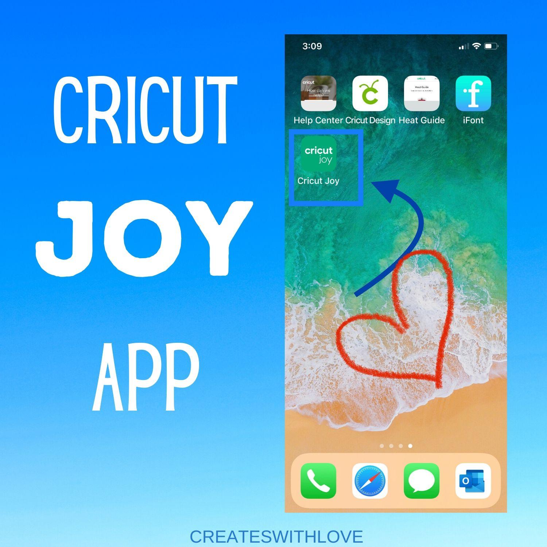 Cricut Joy App on an IOS phone