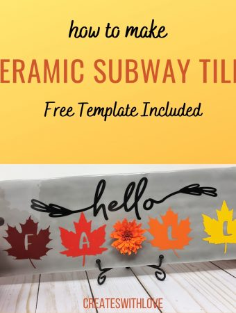 DIY Ceramic Subway Tiles