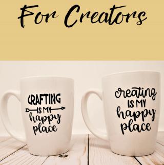 how to apply permanent vinyl to ceramic mugs