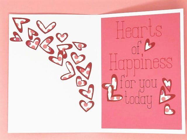 so many hearts of happiness for you today sentiment