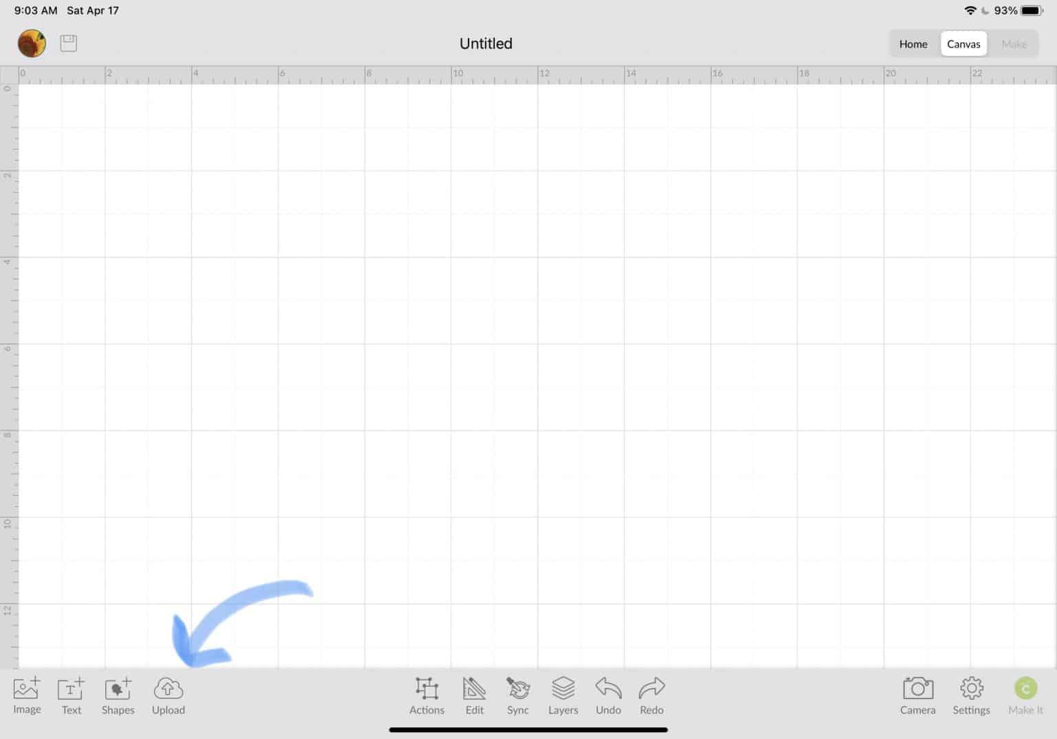 uploading offset into Cricut Design Space