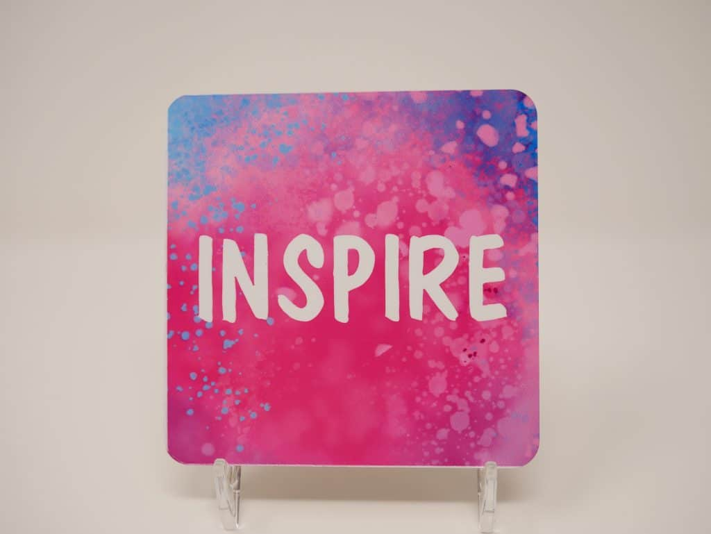 coaster with inspire