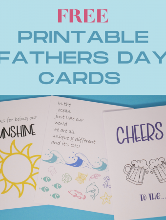 10 Free Printable Fathers' Day Cards