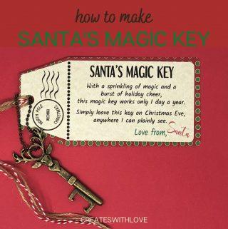 Santa's Magic Key with free files