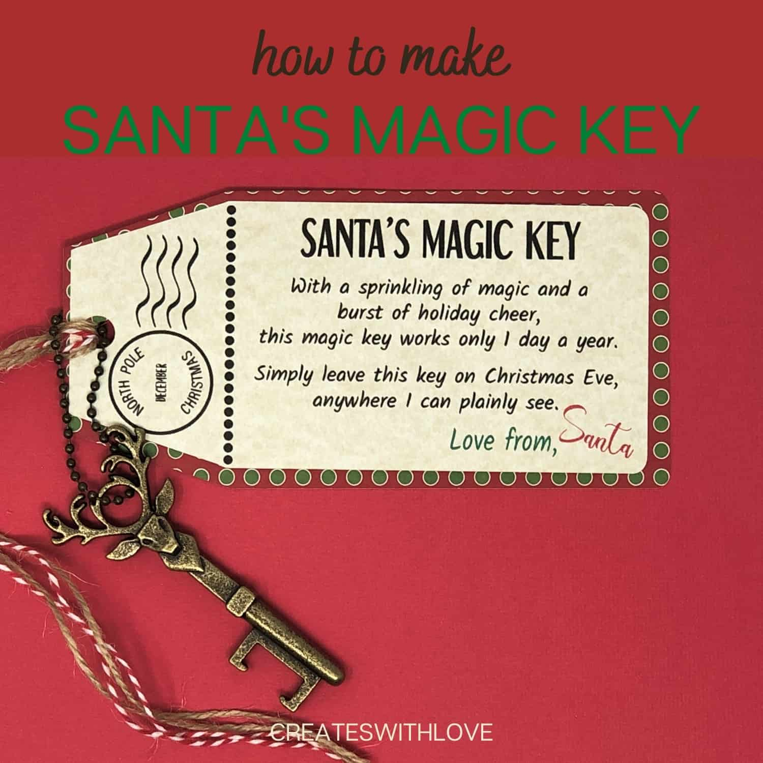 Santa's Magic Key with free files