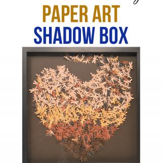 Shadow Box Paper Art