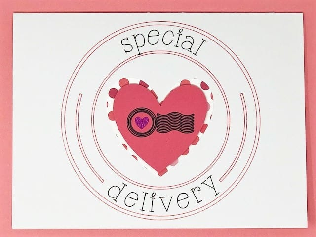 Special Delivery on the card front