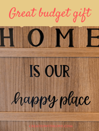 DIY Housewarming Sign