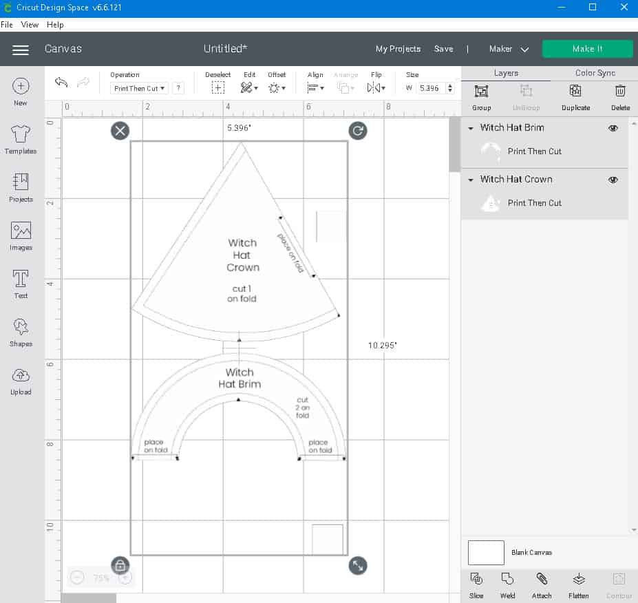pdf sewing pattern is ready to cut