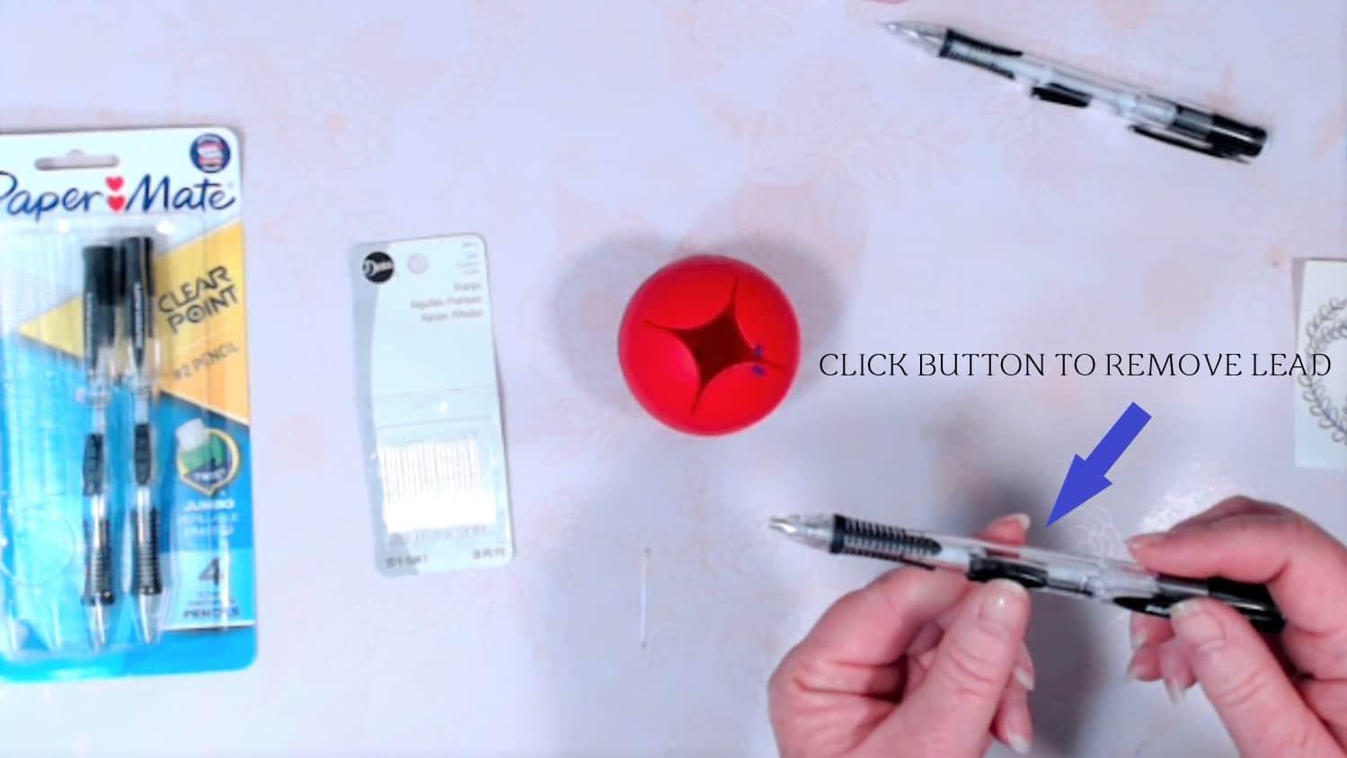 click button to remove lead